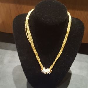 Joan Rivers Vintage Gold Necklace